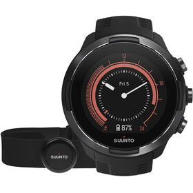 Suunto 9 with HR Belt zwart